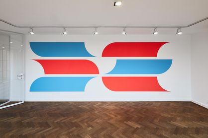 Jan van der Ploeg. WALL PAINTING No. 475